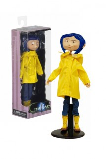 Coraline in Rain - Coat Bendy Fashion Doll