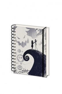 Nightmare Before Christmas - Wiro Notebook A5 Spiral Hill