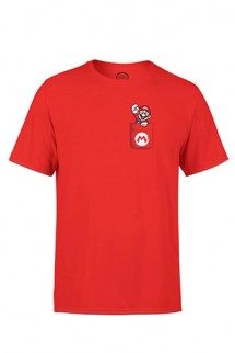 Nintendo - Camiseta Mario Pocket