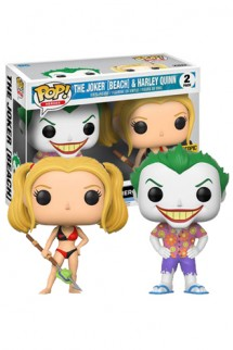 Pop! DC: Joker & Harkey Beach Pack 2 Limitado