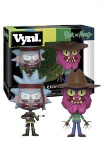 VYNL: Rick & Morty Pack 2 - SEAL Rick y Scary Terry