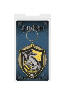 Harry Potter - Rubber Keychain Hufflepuff