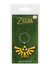 Legend of Zelda - Llavero caucho Triforce