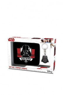 "Star Wars - Pack Wallet + Keyring ""Darth Vader"""