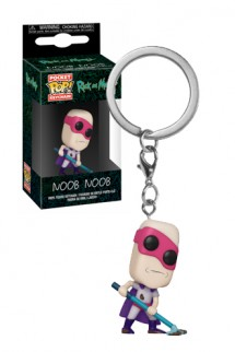 Pop! Keychain: Rick & Morty - Noob-Noob