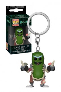 Pop! Keychain: Rick & Morty - Rick in Rat Suit