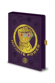 Avengers Infinity War - Premium LED Notebook Infinity Gauntlet
