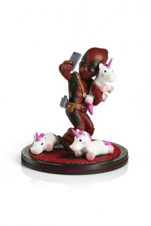 Marvel - Diorama Q-Fig Deadpool #unicornselfie