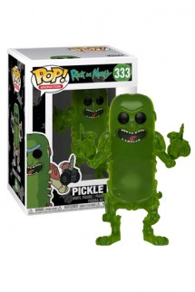 Pop! Rick & Morty: Pickle Rick (Translucent) Exclusive