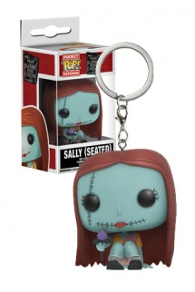 Pop! Keychain Disney: Pesadillas antes de Navidad - Sally (Seated)