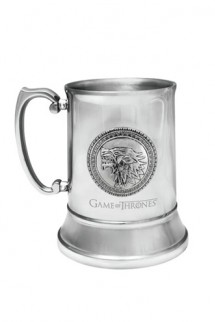 Game of Thrones - Stainless Steel Stein Stark
