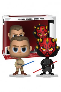 VYNL: Star Wars - Darth Maul & Obi Wan