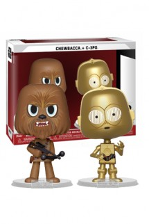VYNL: Star Wars - Chewbacca & C-3PO