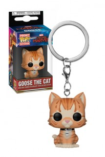 Pop! Keychains: Marvel - Captain Marvel - Goose the Cat