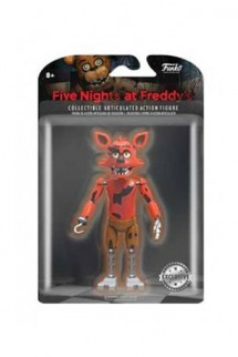 Five Nights at Freddy's Articulated Foxy Action Figure, Exclusive