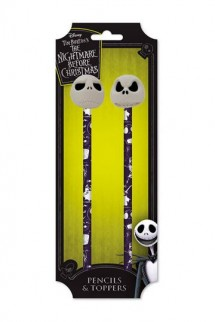 Nightmare Before Christmas - Pencil with Topper 2-Pack