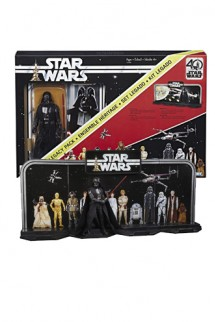 Star Wars - Figura Darth Vader 40th Anniversary Legacy