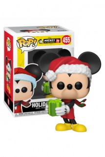 Pop! Disney: Mickey's 90th - Holiday Mickey