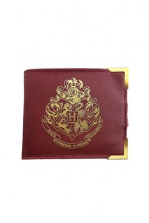 Harry Potter - Golden Hogwarts Wallet