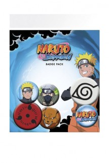 Naruto Shippuden - Pin Badges 6-Pack Mix
