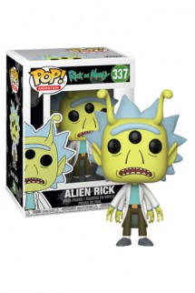 Pop! TV: Rick & Morty - Alien Head Rick Exclusiva