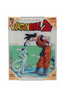 Dragon Ball Z - Poster de vidrio Goku vs Freezer
