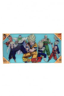 Dragon Ball Z - Glass Poster Heroes