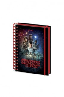 Stranger Things - Libreta A5 Wiro One Sheet