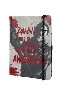 The Walking Dead - Libreta Premium A5 Negan & Lucille