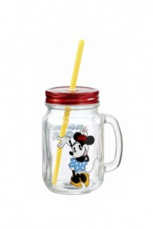 Funko Home: Disney Mason Jar - Classic Mickey Minnie