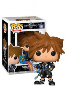 Pop! Disney: Kingdom Hearts III - Sora (Drive Form) Exclusivo