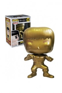 Pop! Movie: Bruce Lee - Gold Exclusiva