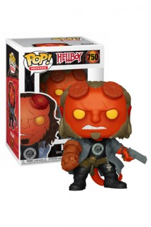 Pop! Movies: Hellboy - Hellboy w/BPRD Tee