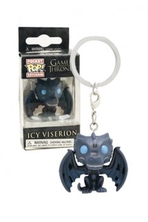 Pop! Keychains: Game of Thrones - Ice Viserion Exclusive