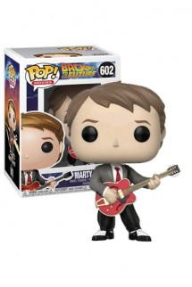 Pop! Movies: Regreso al Futuro - Marty McFly w/Guitar Exclusivo