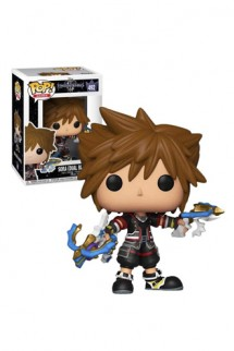 Pop! Game: Kingdom Hearts - Sora w/ Dual Blasters Exclusivo