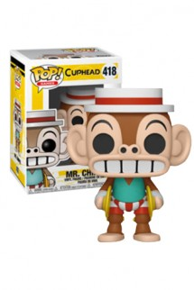 Pop! Games: Cuphead S2 - Mr. Chimes Exclusive