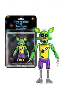 Action Figure: Five Night At Freddy's Blacklight - Foxy Exclusivo