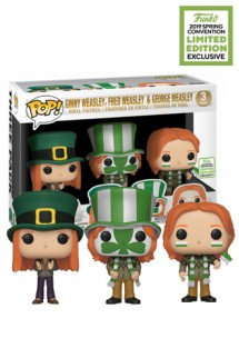 Pop! Harry Potter S5 - Fred, George, Ginny Pack Exclusivo