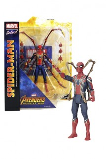 Vengadores Infinity War - Marvel Select Figura Iron Spider-Man