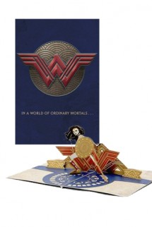 DC Comics - Greeting Card 4D Wonder Woman