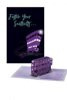 Harry Potter - Greeting Card 4D Knight Bus