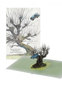 Harry Potter - Greeting Card 4D Whomping Willow