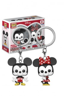 Funko Keychain: Disney - Mickey & Minnie
