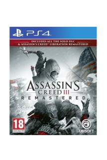 Assassin's Creed III + AC Liberation Remaster PS4