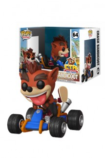 Pop! Rides: Crash Team Racing - Crash Bandicoot