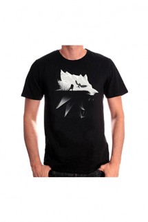 Witcher Camiseta Wolf Silhouette