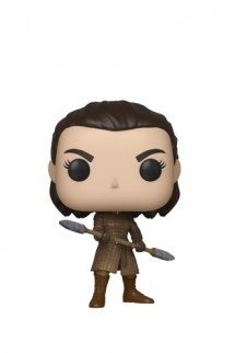 Pop! TV: Juego de Tronos - Arya w/Two Headed Spear