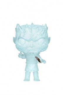 Pop! TV: Juego de Tronos - Crystal Night King w/Dagger in Chest
