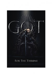 Poster - Game of Thrones: Jon for the Throne